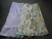 2 Berketex Summer Weight Skirts Both Size 18. Price Is For Both Skirts.