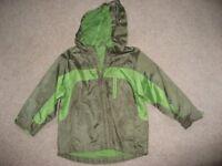 Mothercare Boys Waterproof Jacket (Age 3-4)