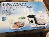 Kenwood food processor brand new still in box