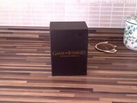 Game of thrones Box set. Excellent condition only Bought 3mths ago