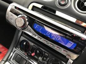 Pioneer cd / mp3 50w x 4 car stereo head unit
