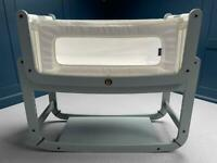 Snuzpod 2 Bedside Crib in Dove Grey