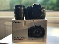 Canon 700D with 18-55mm STM Kit Lens