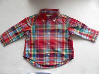 Boys Ralph Lauren long sleeved 6 months