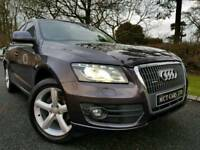 Audi Q5 2.0 Tdi 170 Quattro, Heated, Electric Leather, Sat-Nav, Xenons, L.E.D Lights, Electric Boot!