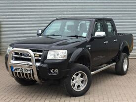 2008 FORD RANGER THUNDER, 3.0 DIESEL ENGINE, AUTOMATIC, PICK UP TRUCK, NO VAT.