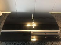 Sony PlayStation3 40 GB Black Console (CECH-G03) NO CONTROLLER