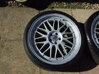 BBS LM Reps 19 inch Alloy Wheels, Audi Center Caps
