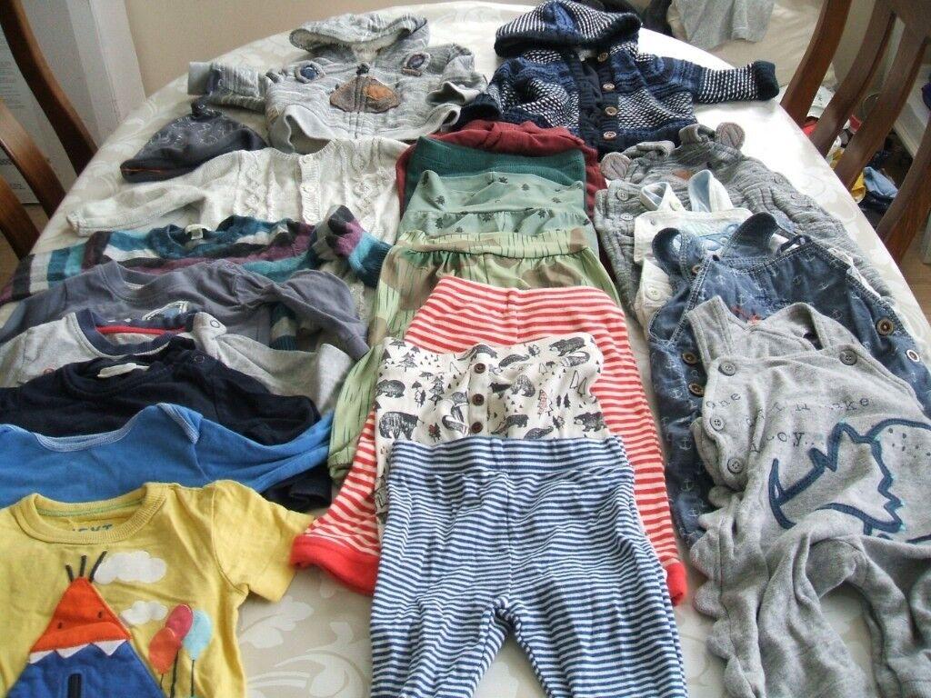 x2 Cheap Sale 3-6 Months Trouserx Boys' Clothing (newborn-5t) Bottoms