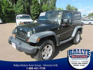 2011 Jeep Wrangler Sport! Traction and Stability! 17 Alloy! Trad