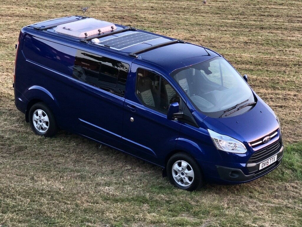 ford transit custom camper van very high spec and superb. Black Bedroom Furniture Sets. Home Design Ideas