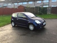 Automatic Citroen C2 in excellent condition ,long mot ,FIRST TO VIEW WILL BUY ,PX WELCOME