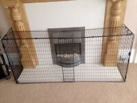 Mother care adjustable fire guard to British standards