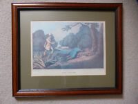SET OF FOUR BEAUTIFULLY FRAMED HENRY ALKEN DELT COUNTRY SPORTING PRINTS