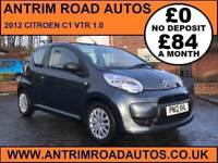 2012 CITROEN C1 VTR ** LOW MILES ** FINANCE AVAILABLE WITH NO DEPOSIT **