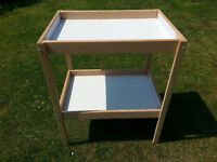 Ikea Sniglar 15333 2-Tier Baby Changing Table