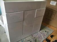 Bathroom 800 cabinet damaged 800x400