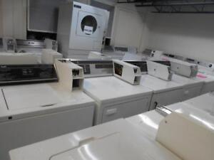 LIQUIDATION LAVEUSES & SECHEUSES PAYANTE / LIQUIDATION COIN OPERATED WASHERS & DRYERS