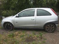 Vauxhall Corsa sxi. Spares or repairs.