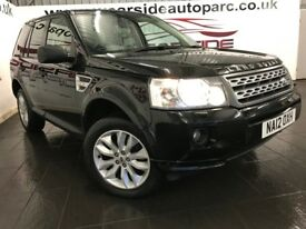 LAND ROVER FREELANDER 2 2.2 TD4 GS 4X4 5dr (black) 2012