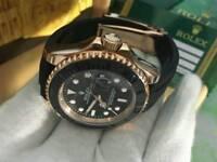 Rolex Yatch-Master Everose Gold Rubber Strap