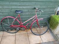 Vintage British eagle ladies women's bike