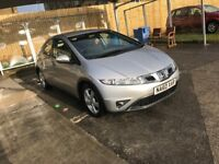 Honda Civic 2.2 diesel CTDi SE Manual in silver