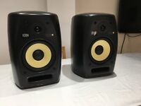 KRK VXT8 PAIR OF MONITOR SPEAKERS, £675