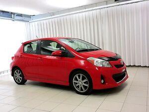 2012 Toyota Yaris SE 5DR HATCH w/ BLUETOOH, A/C, AND ALLOY WHEEL