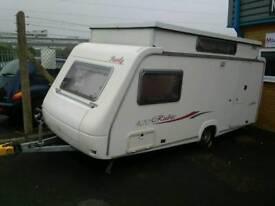 Rubis 420 4 berth pop top caravan