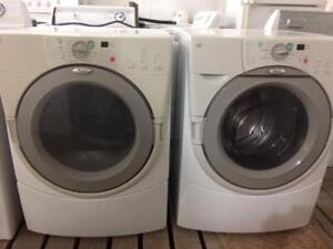 Whirlpool GAS Front Load Washer and Dryer, Free Warranty, Cheap Delivery