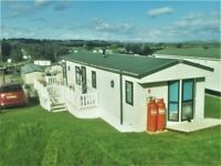 Sited Static Caravan Willerby Aspen 37'x12' 2 Bedroom in Gloucestershire, next to the River Severn