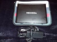 TOSHIBA NB500 LAPTOP NETBOOK WINDOWS 10 250GB HDD 2GB RAM 10.1 SCREEN WEBCAM CHARGER CASE