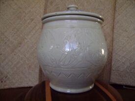 Unusual Storage Jar. Practical & Decorative. From Borneo
