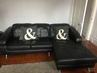 DFS three piece corner sofa