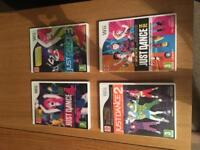Just Dance Wii Games