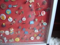 Job lot of Vintage Pins and Badges around 100 in total