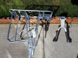 REAR BICYCLE RACK AND STAND