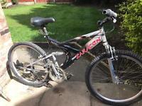 adults saracen raw2 mountain bike
