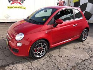 2012 Fiat 500 Sport, Auto, Bluetooth, Power Windows and Locks,