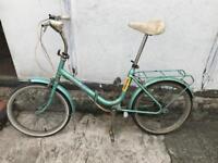 Fold up bike good condition