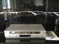 Philips VHS Player- Turbo Drive NiCan HiFi Stereo Video Plus VR740/07