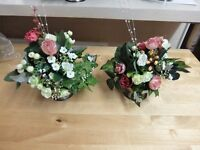 Silk Table Centre Pieces, assorted. Price is per Item.