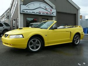 2002 Ford Mustang GT V8 Convertible ÉTAT INCROYABLE!!!