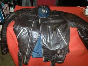 Vintage Shields leather jacket and pants