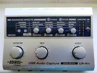 Edirol Roland USB Interface, External sound card UA-4fx
