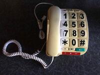 Landline phone - large type