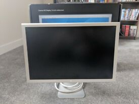 Apple Cinema 23 Inch Widescreen Monitor with Apple Mini DP to DVI adapter