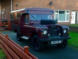 Land Rover series 3 ambulance