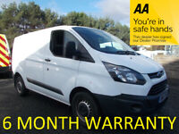 Ford, TRANSIT CUSTOM, Panel Van, 2015, Manual, 2198 (cc)***LEASE CO DIRECT***FULL SERVICE HISTORY***